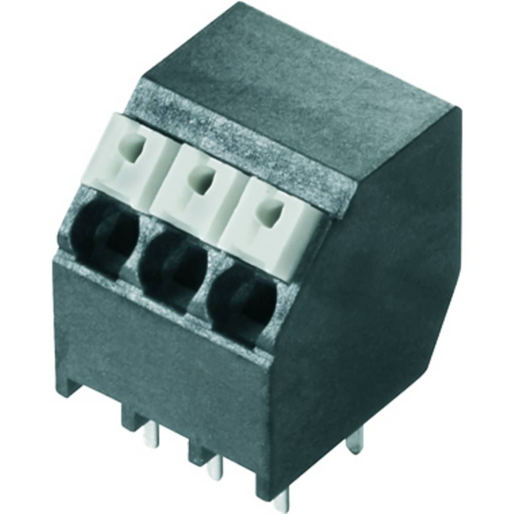 Fjederkraftsklemmeblok Weidmüller LSF-SMT 3.81/04/135 3.5SN BK TU 1.50 mm² Poltal 4 Sort 35 stk