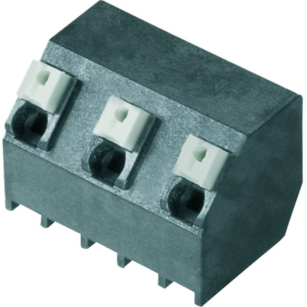 Fjederkraftsklemmeblok Weidmüller LSF-SMT 7.62/04/135 1.5SN BK RL 1.50 mm² Poltal 4 Sort 190 stk