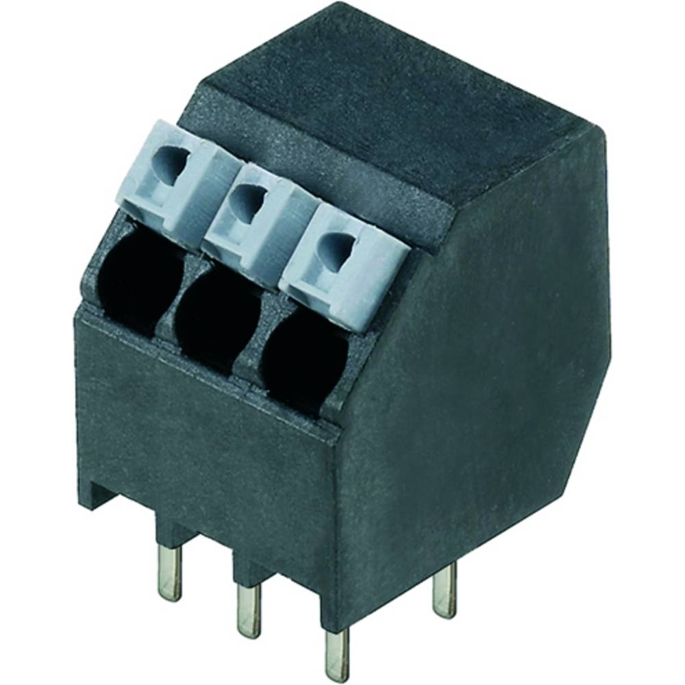Fjederkraftsklemmeblok Weidmüller LSF-SMT 3.50/03/135 1.5SN BK RL 1.50 mm² Poltal 3 Sort 190 stk