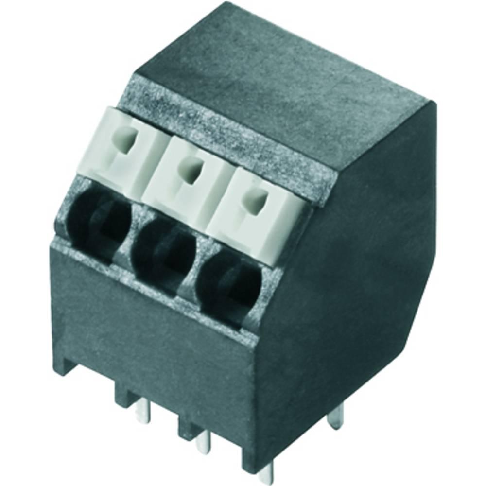 Fjederkraftsklemmeblok Weidmüller LSF-SMT 3.81/05/135 3.5SN BK RL 1.50 mm² Poltal 5 Sort 190 stk