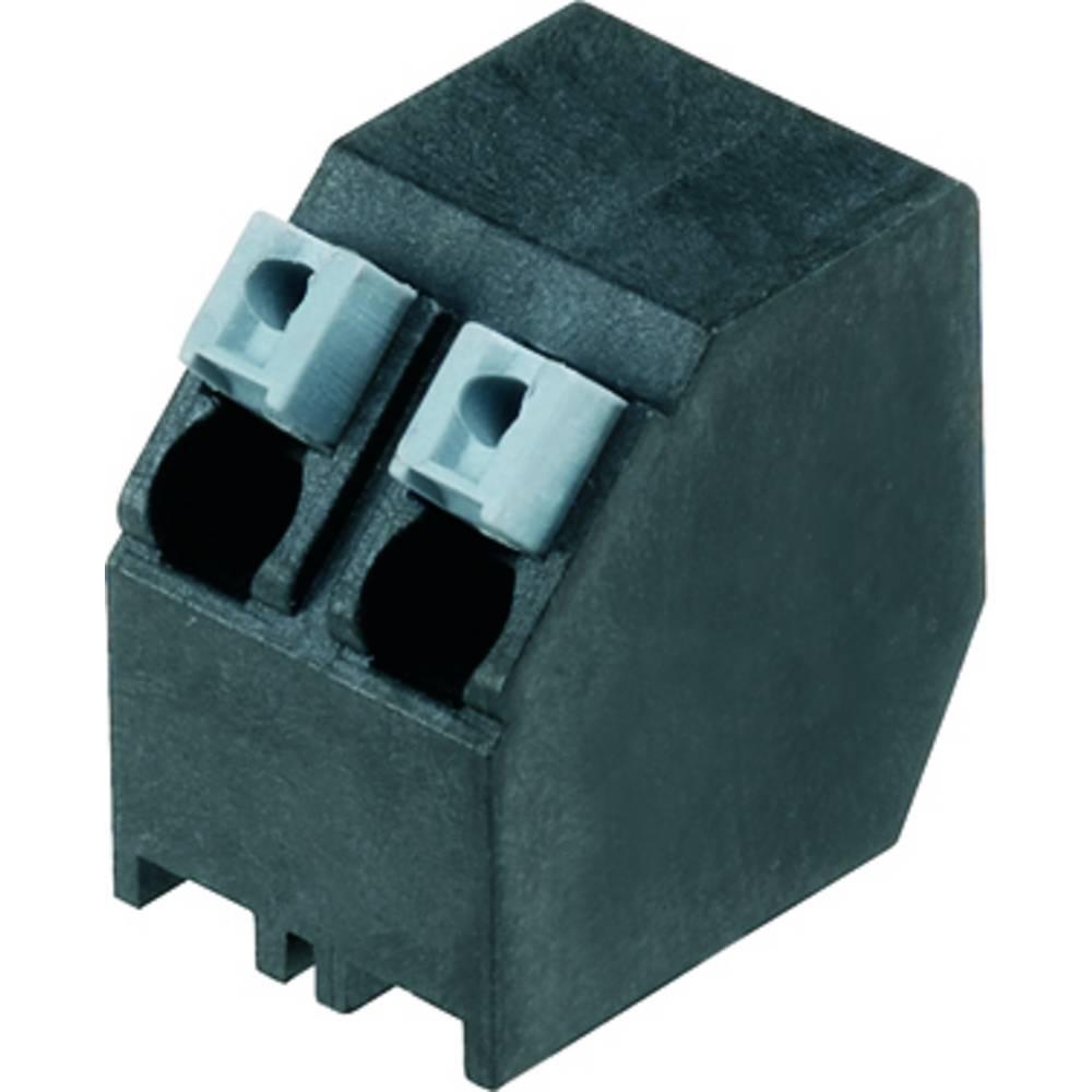 Fjederkraftsklemmeblok Weidmüller LSF-SMT 5.00/06/135 1.5SN BK RL 1.50 mm² Poltal 6 Sort 190 stk