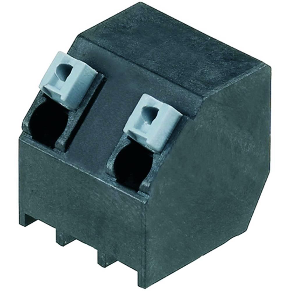 Fjederkraftsklemmeblok Weidmüller LSF-SMT 7.50/02/135 3.5SN BK RL 1.50 mm² Poltal 2 Sort 190 stk