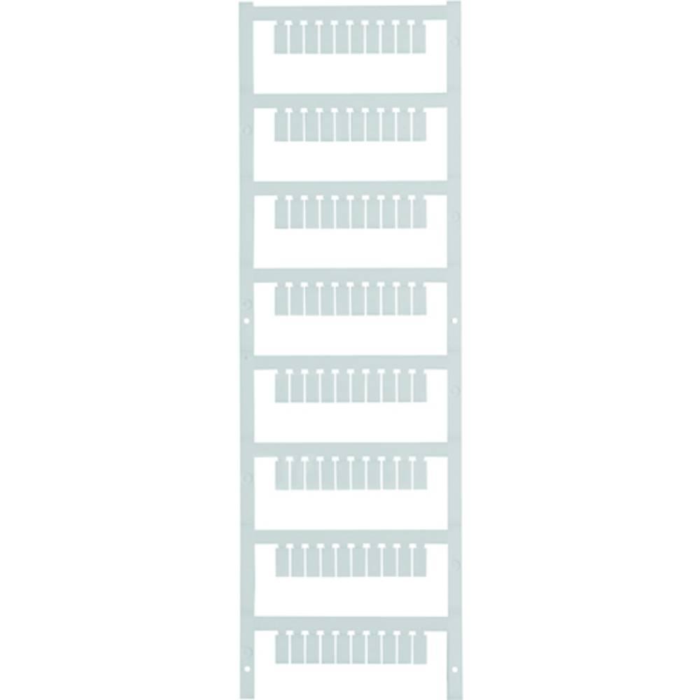 Enhed markører MultiCard MF-SI 10/5 MC NEUTRAL 1889190000 Hvid Weidmüller 400 stk