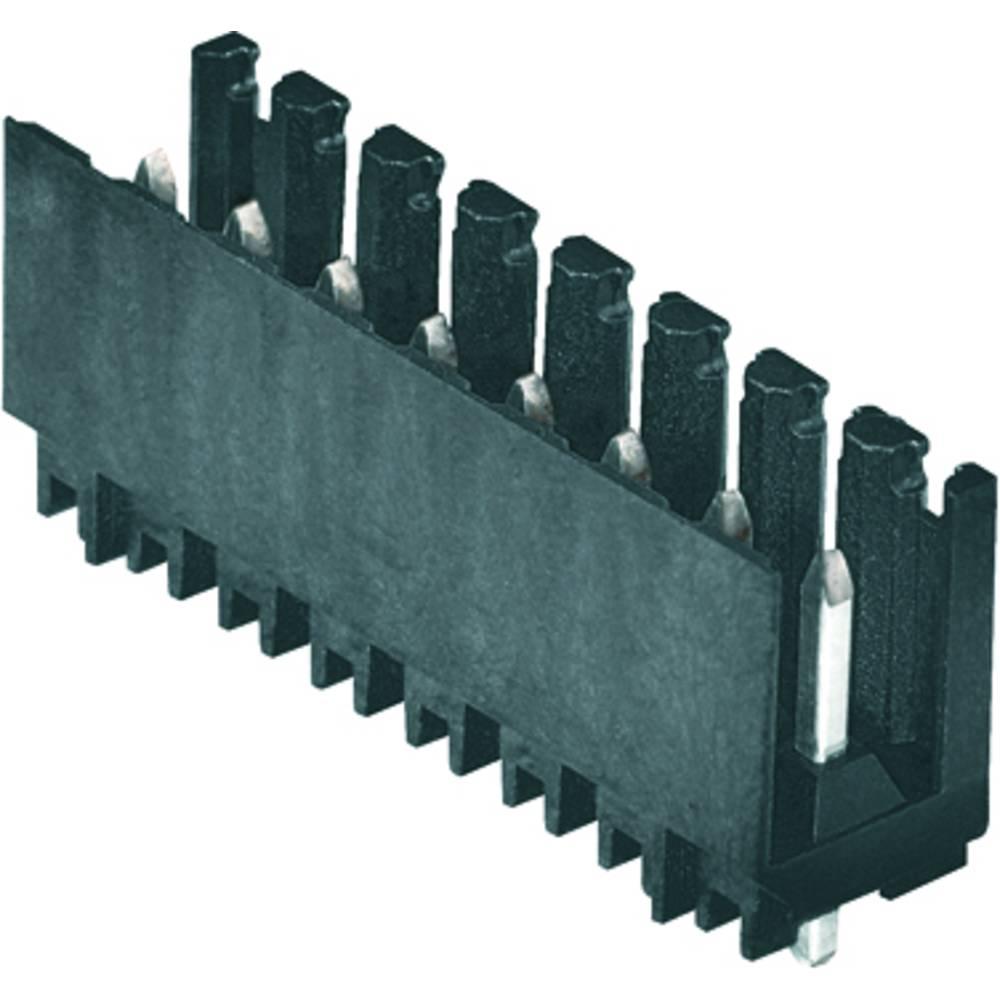 Vtični konektor za tiskana vezja oranžne barve Weidmüller 1891260000 vsebuje: 10 kosov