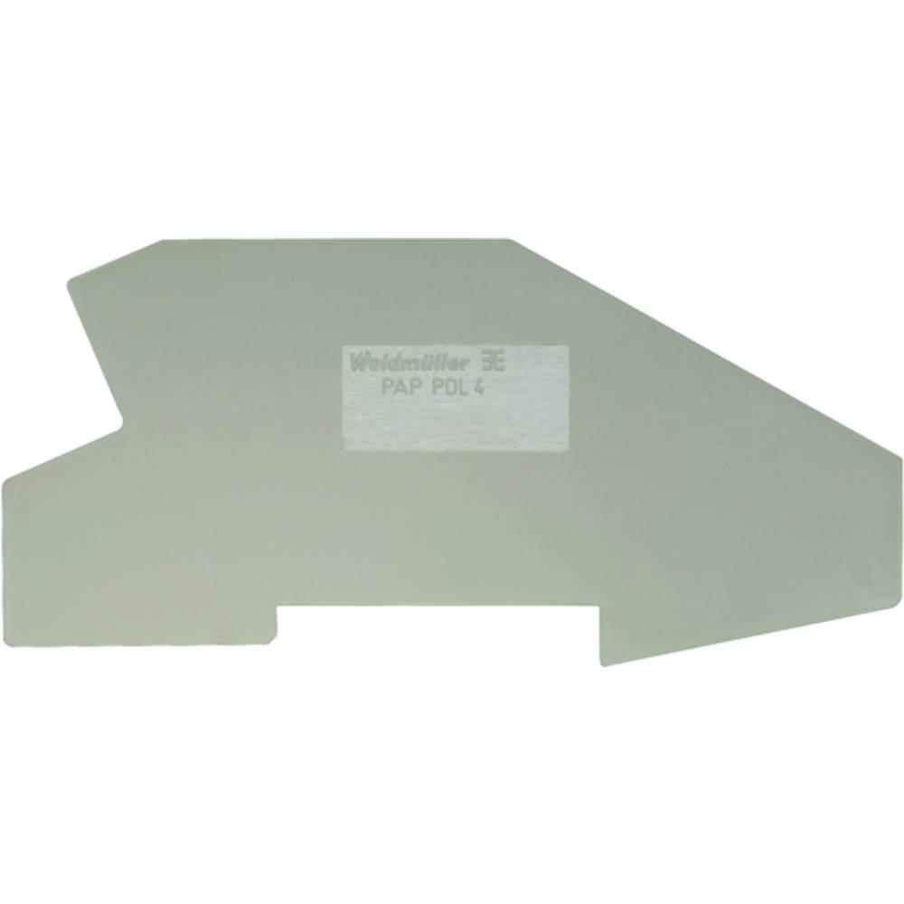 Endeplade, bevarer plade PHP PNT 6/10 1896100000 Weidmüller 10 stk