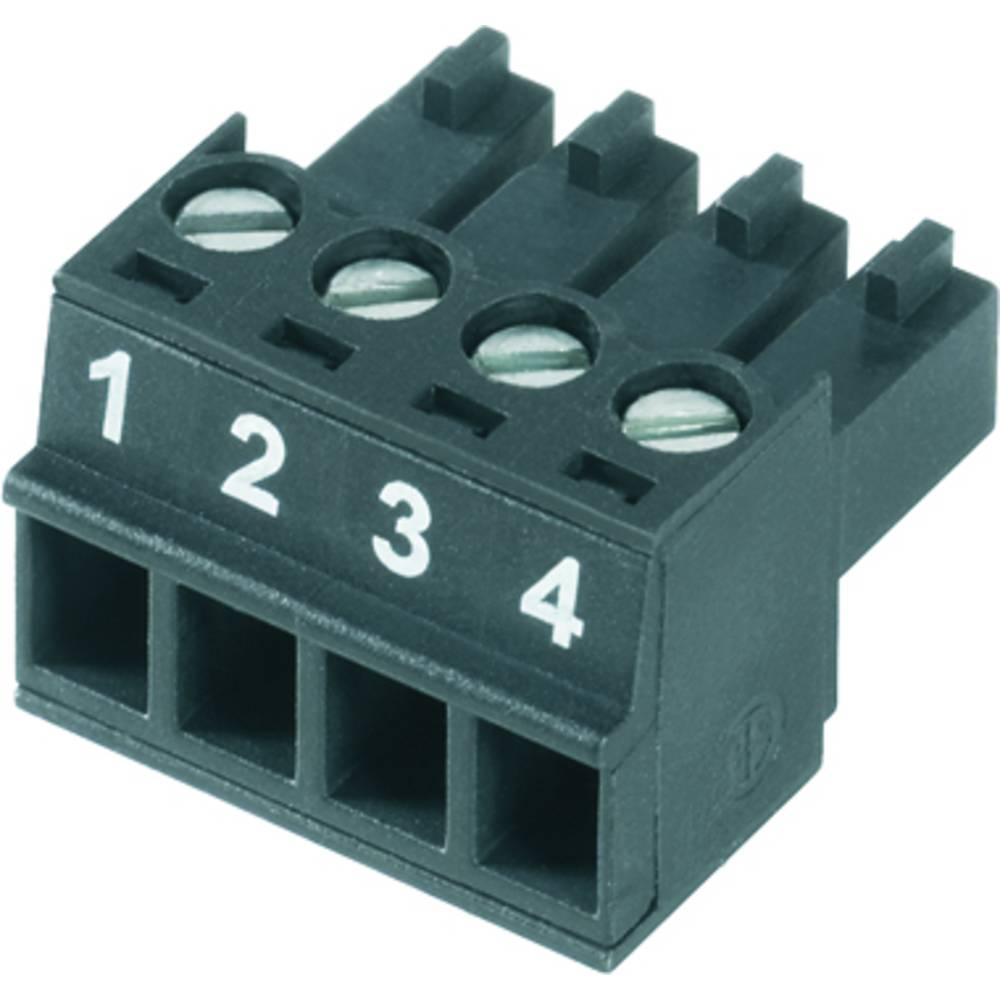Tilslutningskabinet-kabel BC/SC (value.1360601) Samlet antal poler 15 Weidmüller 1899520000 Rastermål: 3.81 mm 50 stk