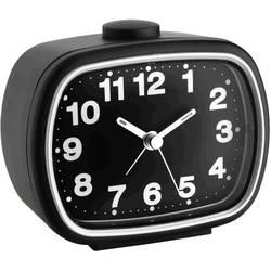 Kvarts Väckarklocka TFA 60.1017.01 Svart Larmtider 1 Flourescerande Visare