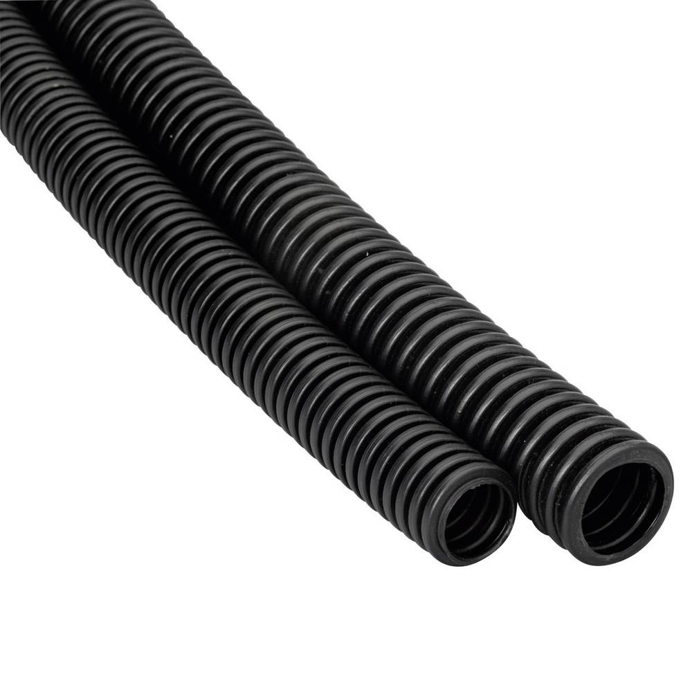 Fleksibilna instalacijska cijev Heidemann 13467, poliolefin, EN20, 25 m, crne boje