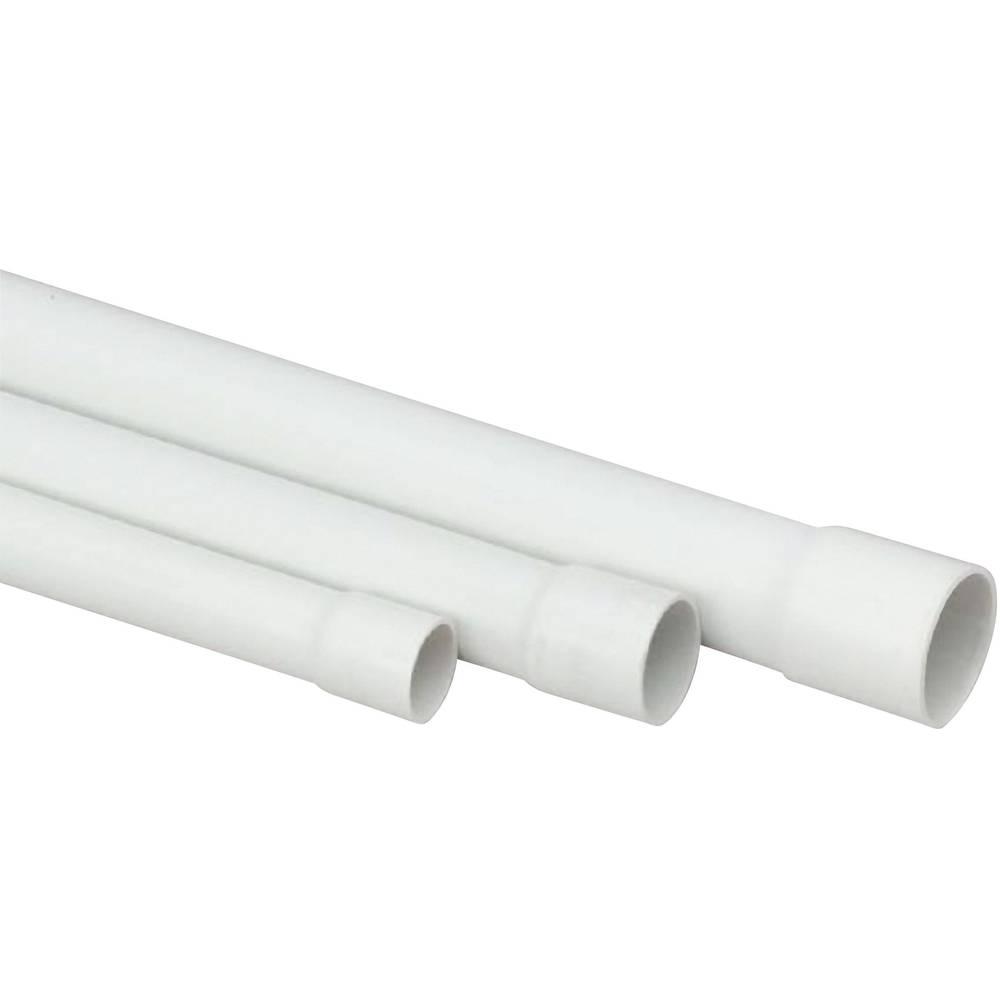 Instalacijska cijev Heidemann13007, prema ISO-standardu, PVC, EN20, siva (RAL 7035)