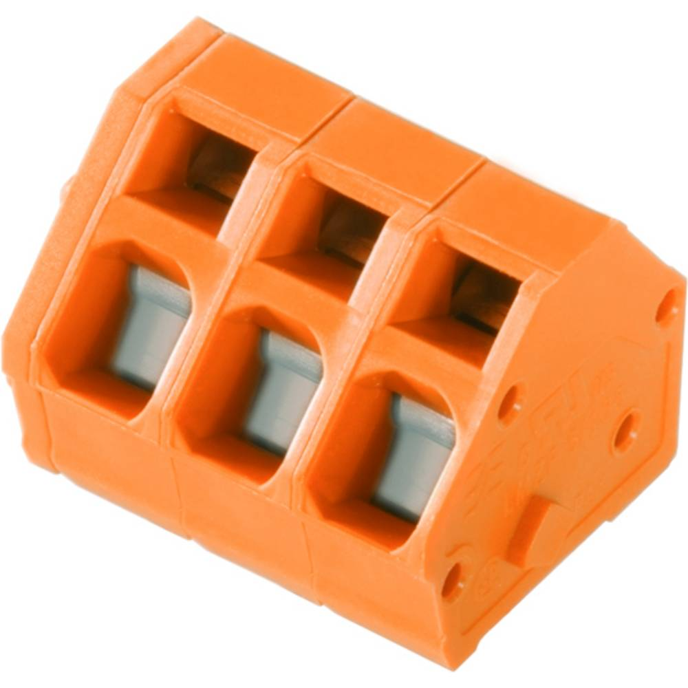 Fjederkraftsklemmeblok Weidmüller LMZF 5/11/135 3.5OR 2.50 mm² Poltal 11 Orange 100 stk