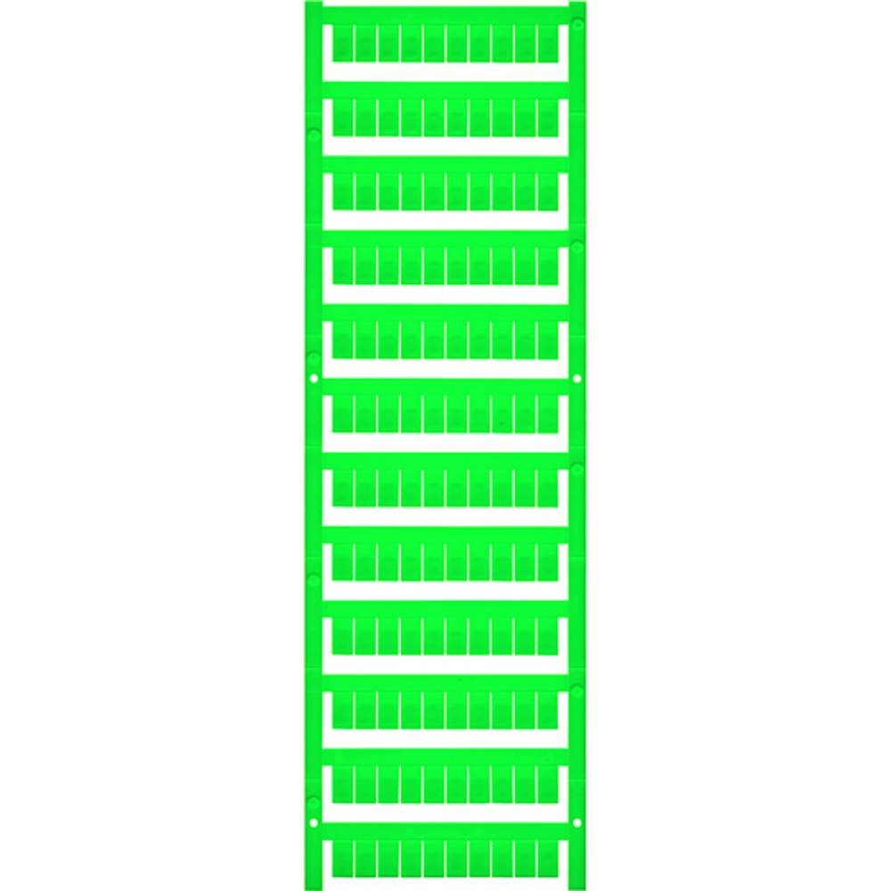 Enhed markører MultiCard WS 10/6 MC MIDDLE GN 1917420000 Grøn Weidmüller 600 stk