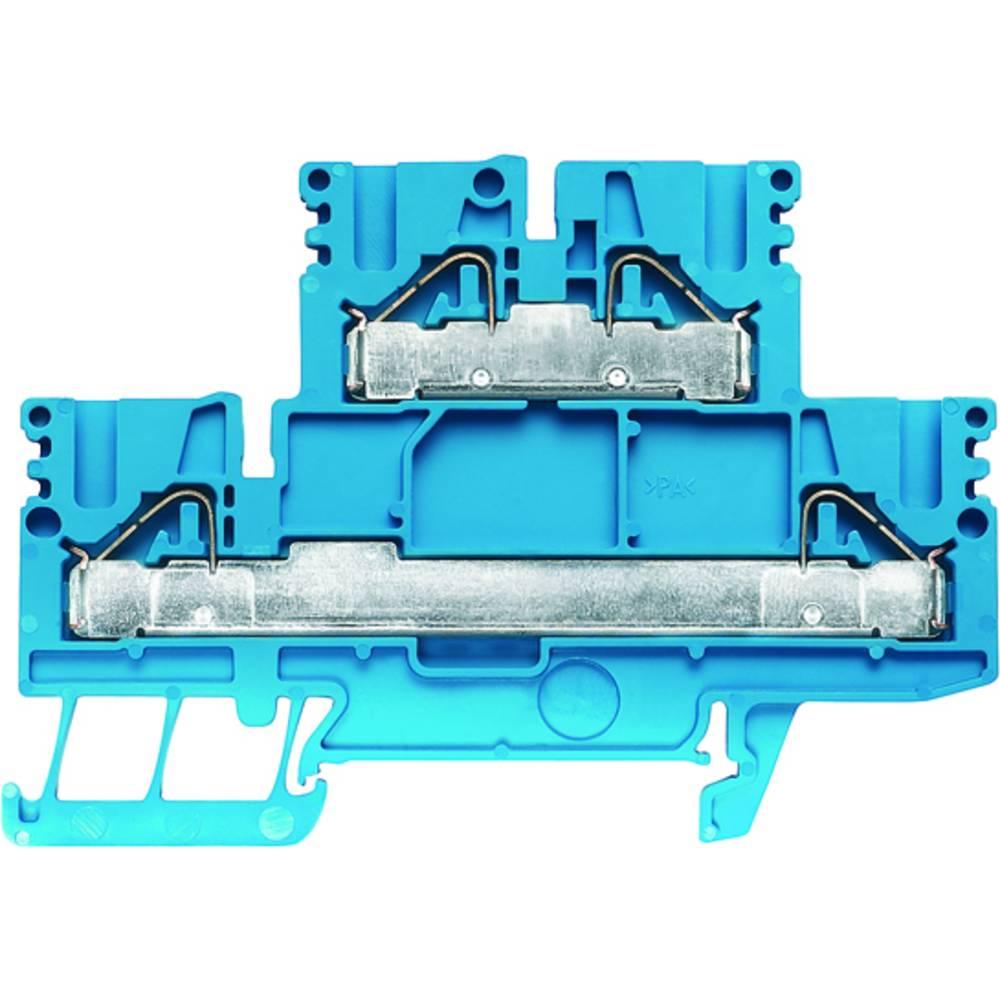 Dobbelt-niveau modulopbygget terminal Weidmüller PDK 2.5/4 BL 1918760000 50 stk