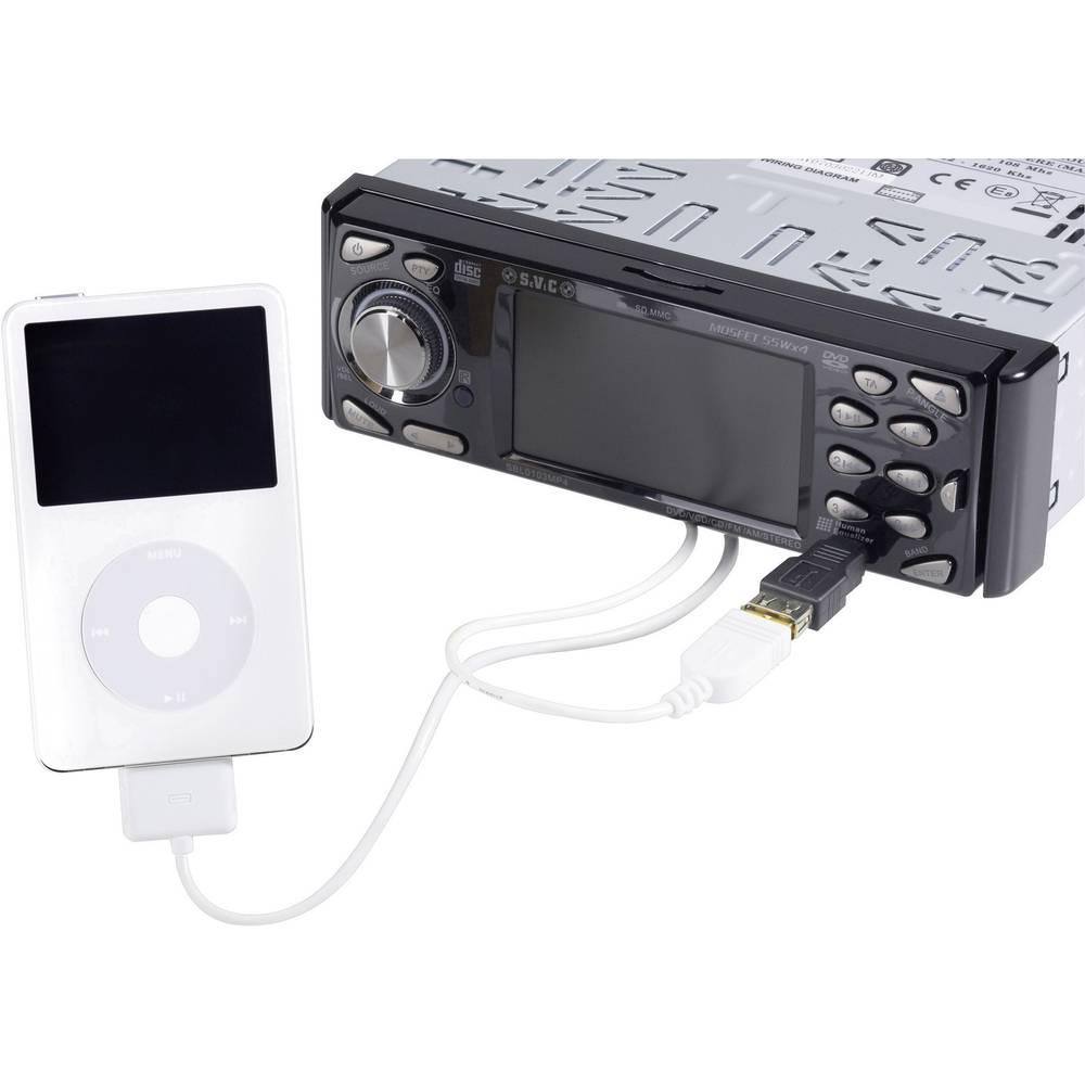 Priključni kabel iz mini USB na iPod in USB