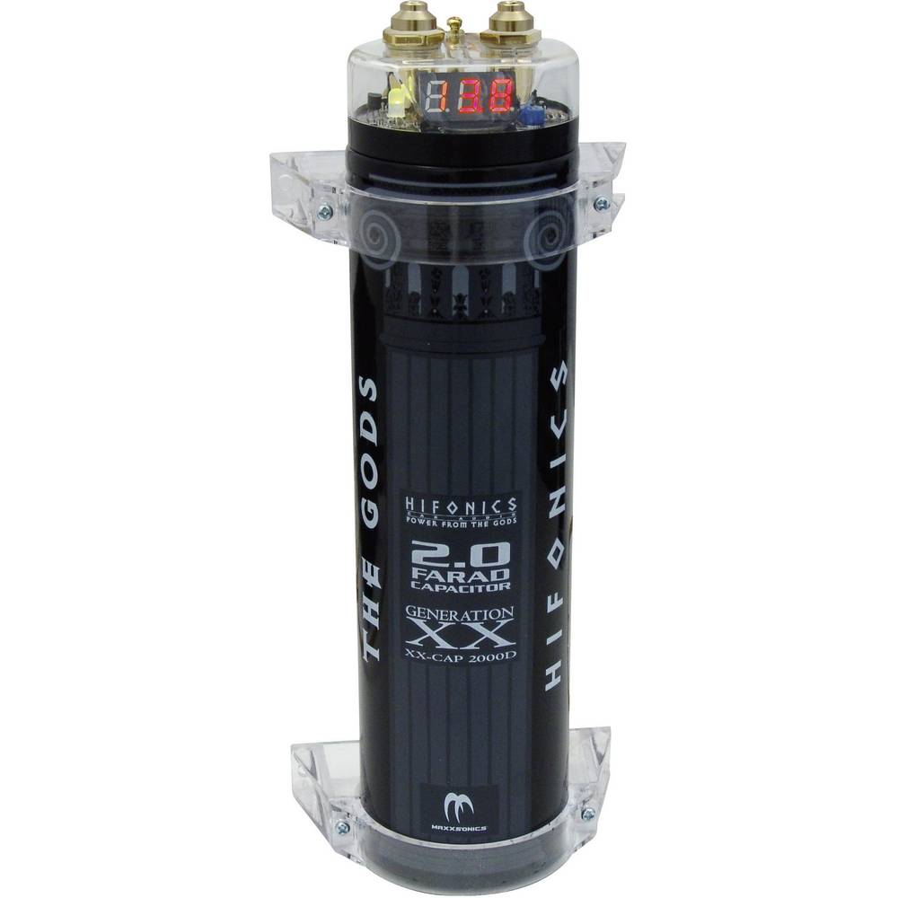 Gladilni kondenzator 2 F Hifonics HFC-2000