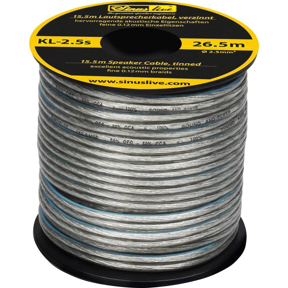 SINUSLIVE 15,5 m LS kabel 2,5mm2, Sinuslive