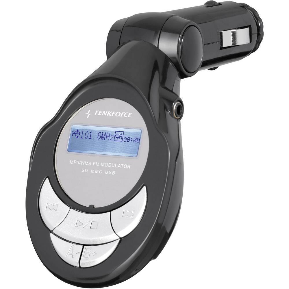 Renkforce 372241 FM-sändare Integrerad MP3-spelare