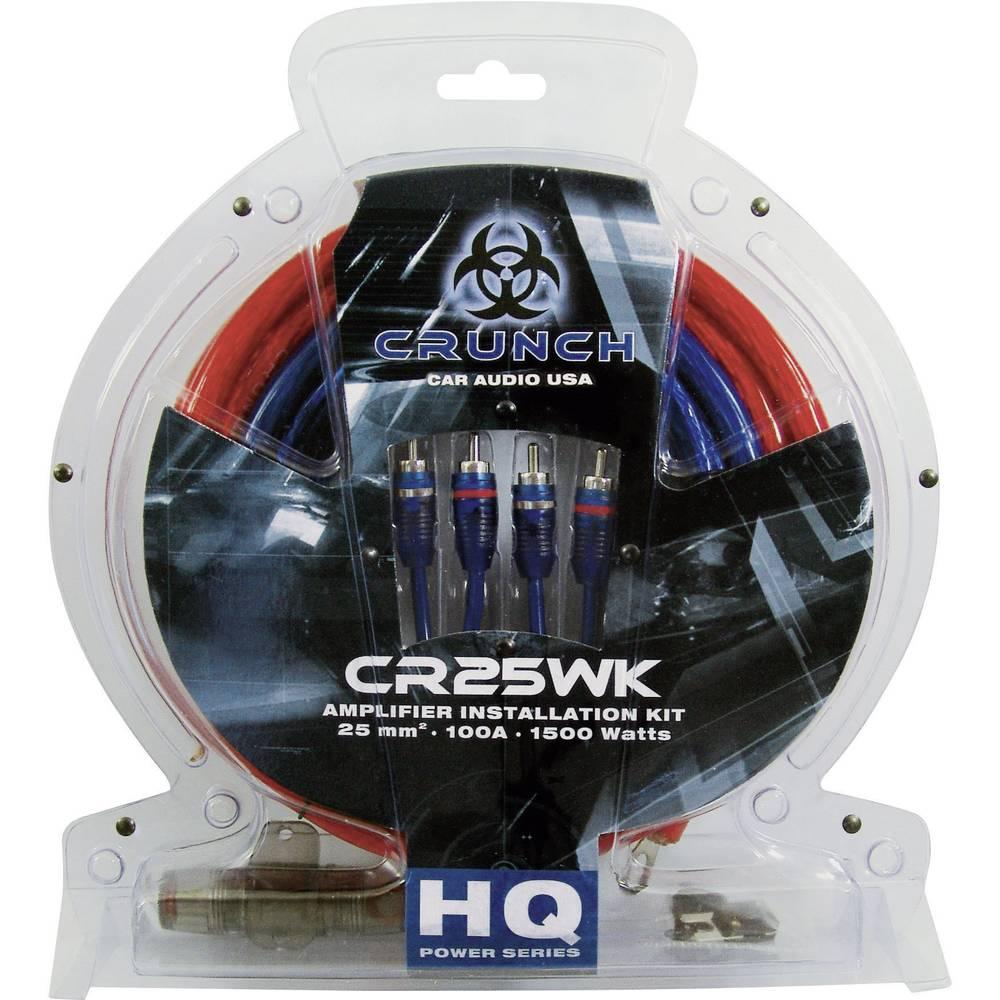 Car-Hi-Fi tilslutningssæt til udgangsforstærkere Crunch cr25wk 25 mm²