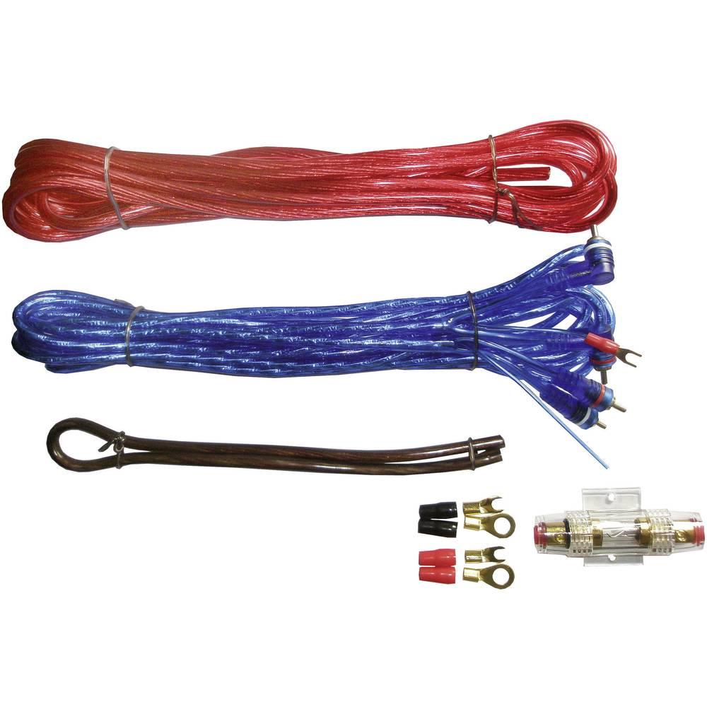 Car-Hi-Fi tilslutningssæt til udgangsforstærkere Sinustec BCS-1000 10 mm²
