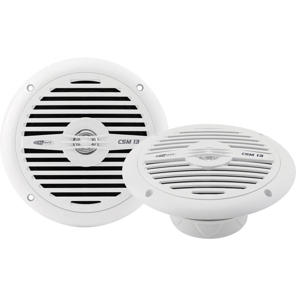 2-sistemski koaksialni vgradni zvočnik za avtomobile 120 W Caliber Audio Technology CSM13 beli
