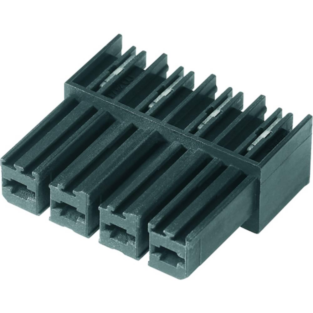 Tilslutningskabinet-printplade BV/SV (value.1360606) Samlet antal poler 6 Weidmüller 1928320000 Rastermål: 7.62 mm 50 stk
