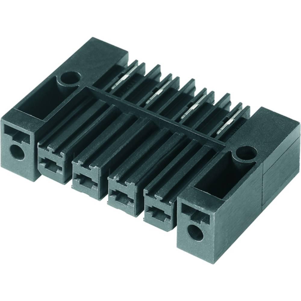 Vtični konektor za tiskana vezja črne barve Weidmüller 1928420000 vsebuje: 50 kosov