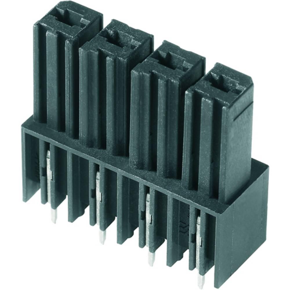 Vtični konektor za tiskana vezja črne barve Weidmüller 1928650000 vsebuje: 50 kosov