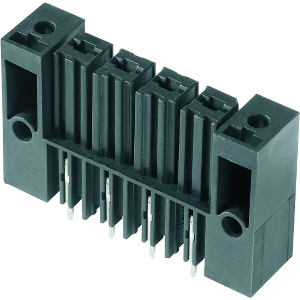 Vtični konektor za tiskana vezja črne barve Weidmüller 1928780000 vsebuje: 50 kosov