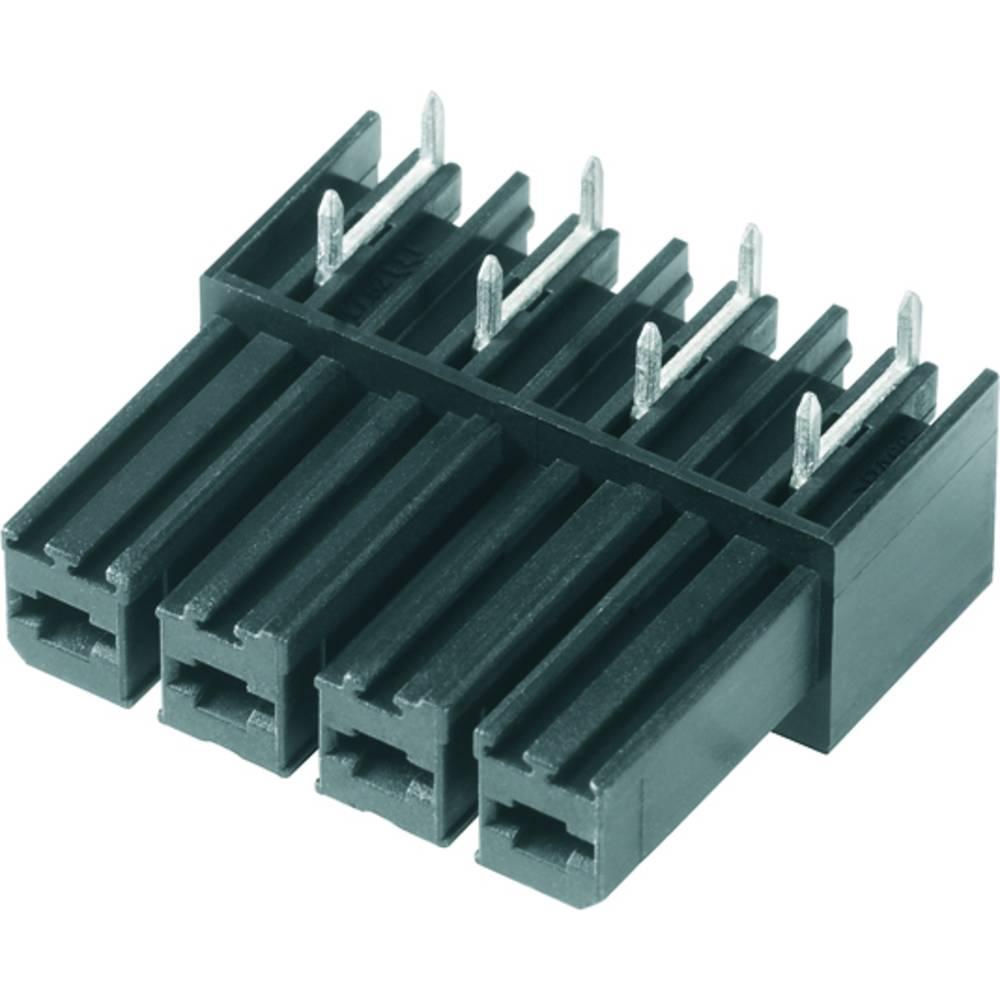 Vtični konektor za tiskana vezja črne barve Weidmüller 1929350000 vsebuje: 50 kosov