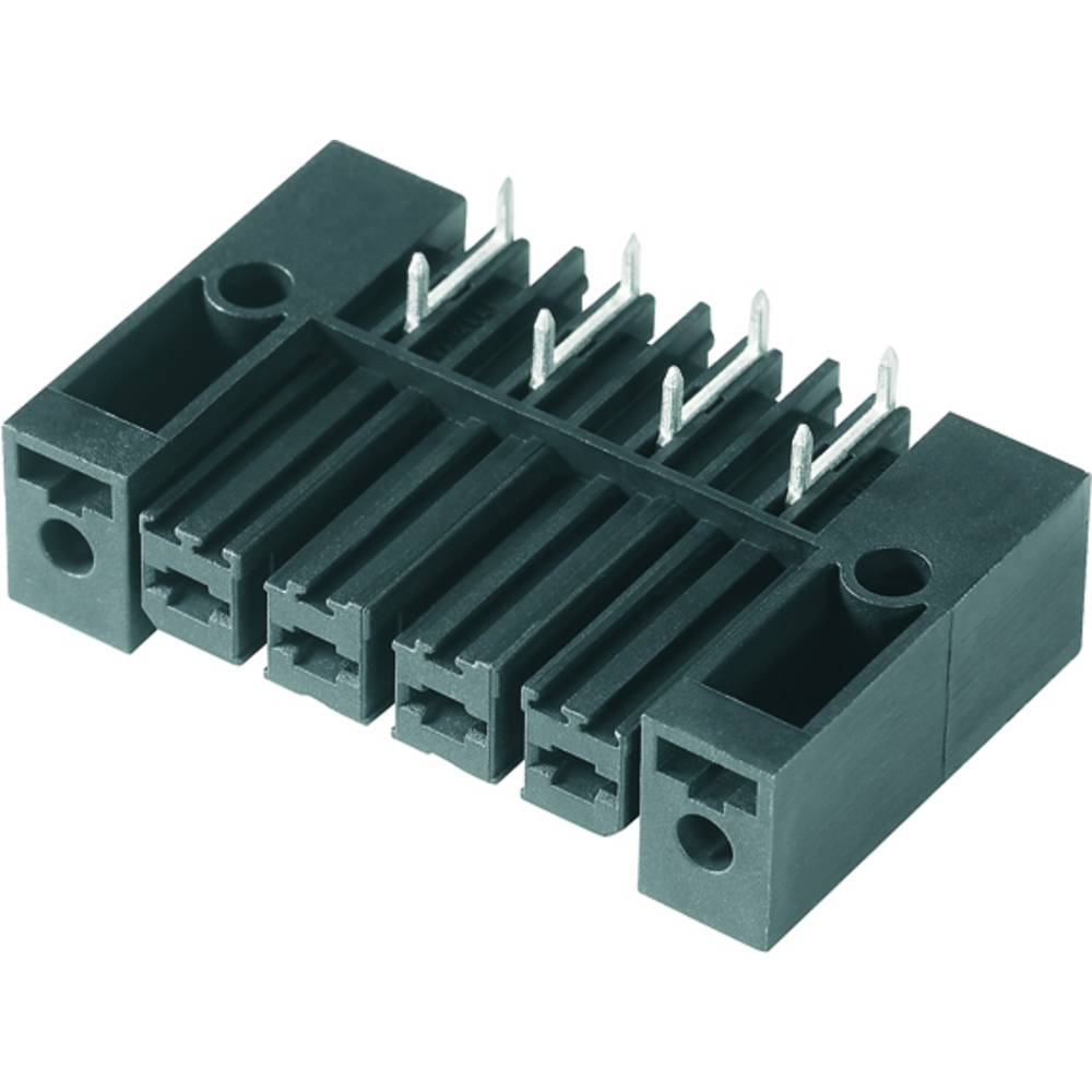 Tilslutningskabinet-printplade BV/SV (value.1360606) Samlet antal poler 2 Weidmüller 1929520000 Rastermål: 7.62 mm 100 stk