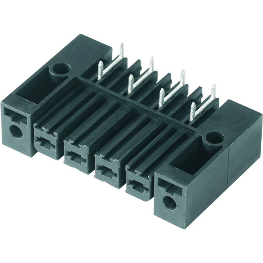 Tilslutningskabinet-printplade BV/SV (value.1360606) Samlet antal poler 5 Weidmüller 1929550000 Rastermål: 7.62 mm 50 stk