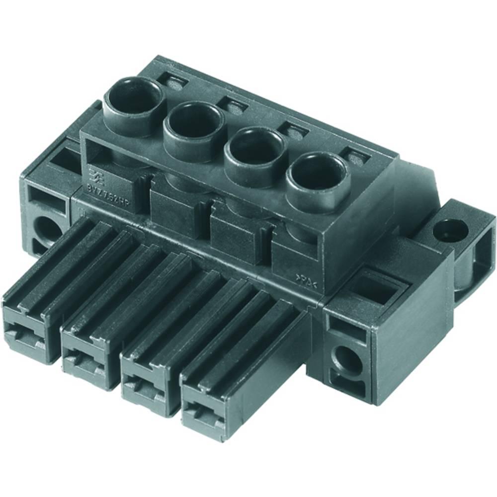 Tilslutningskabinet-kabel BV/SV (value.1360606) Samlet antal poler 2 Weidmüller 1929630000 Rastermål: 7.62 mm 100 stk