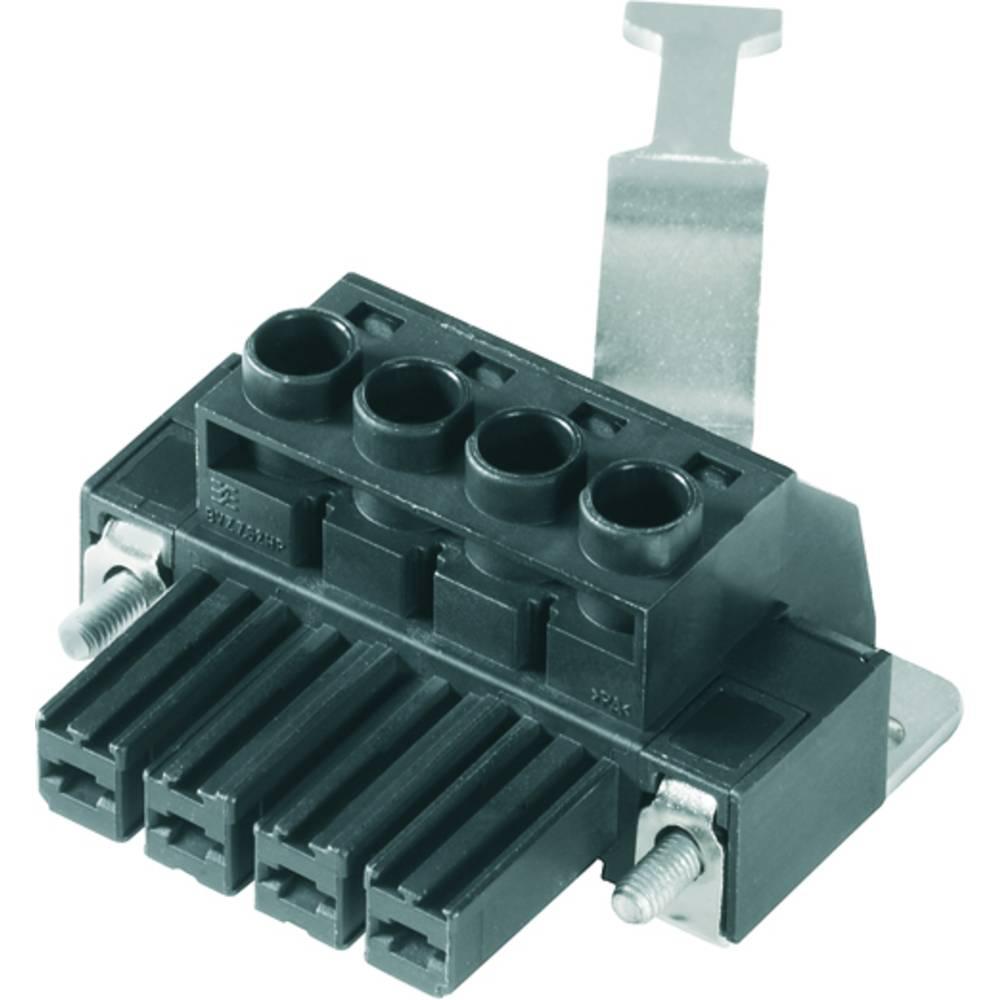Tilslutningskabinet-kabel BV/SV (value.1360606) Samlet antal poler 3 Weidmüller 1929850000 Rastermål: 7.62 mm 50 stk