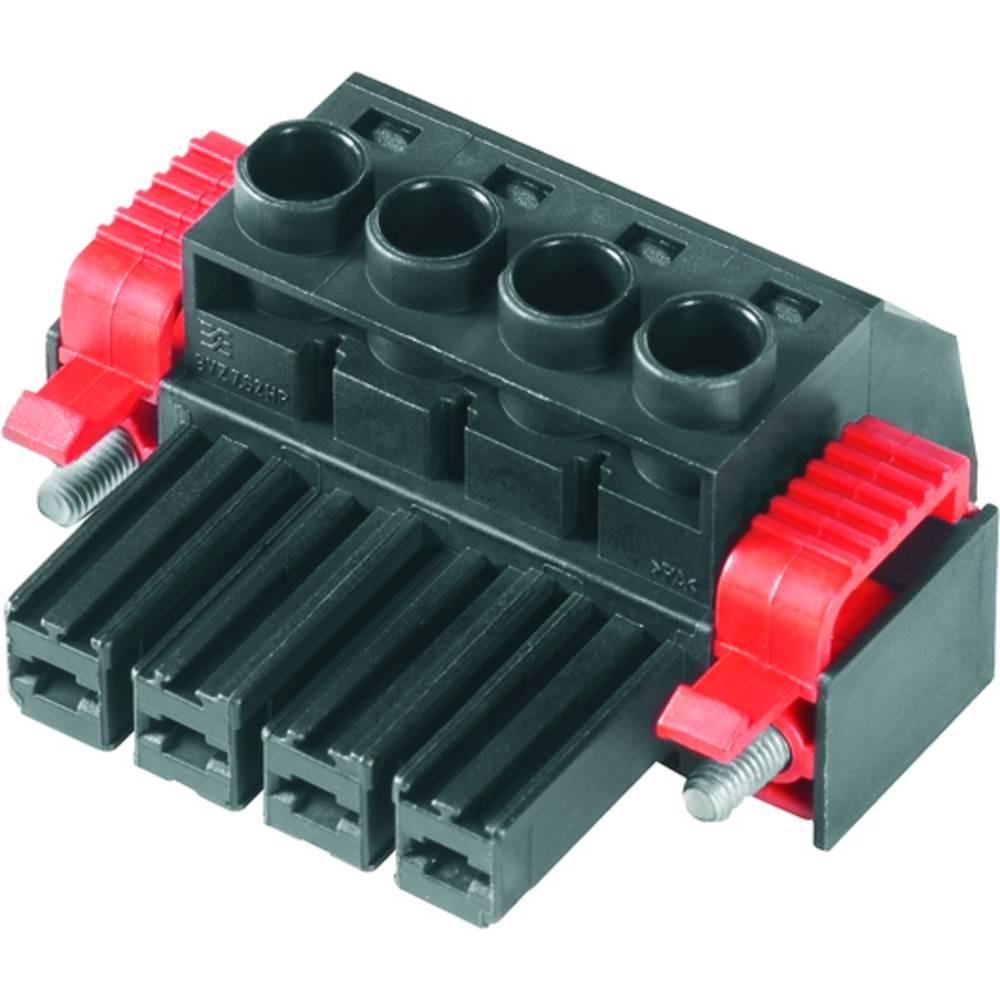 Tilslutningskabinet-kabel BV/SV (value.1360606) Samlet antal poler 4 Weidmüller 1930180000 Rastermål: 7.62 mm 100 stk