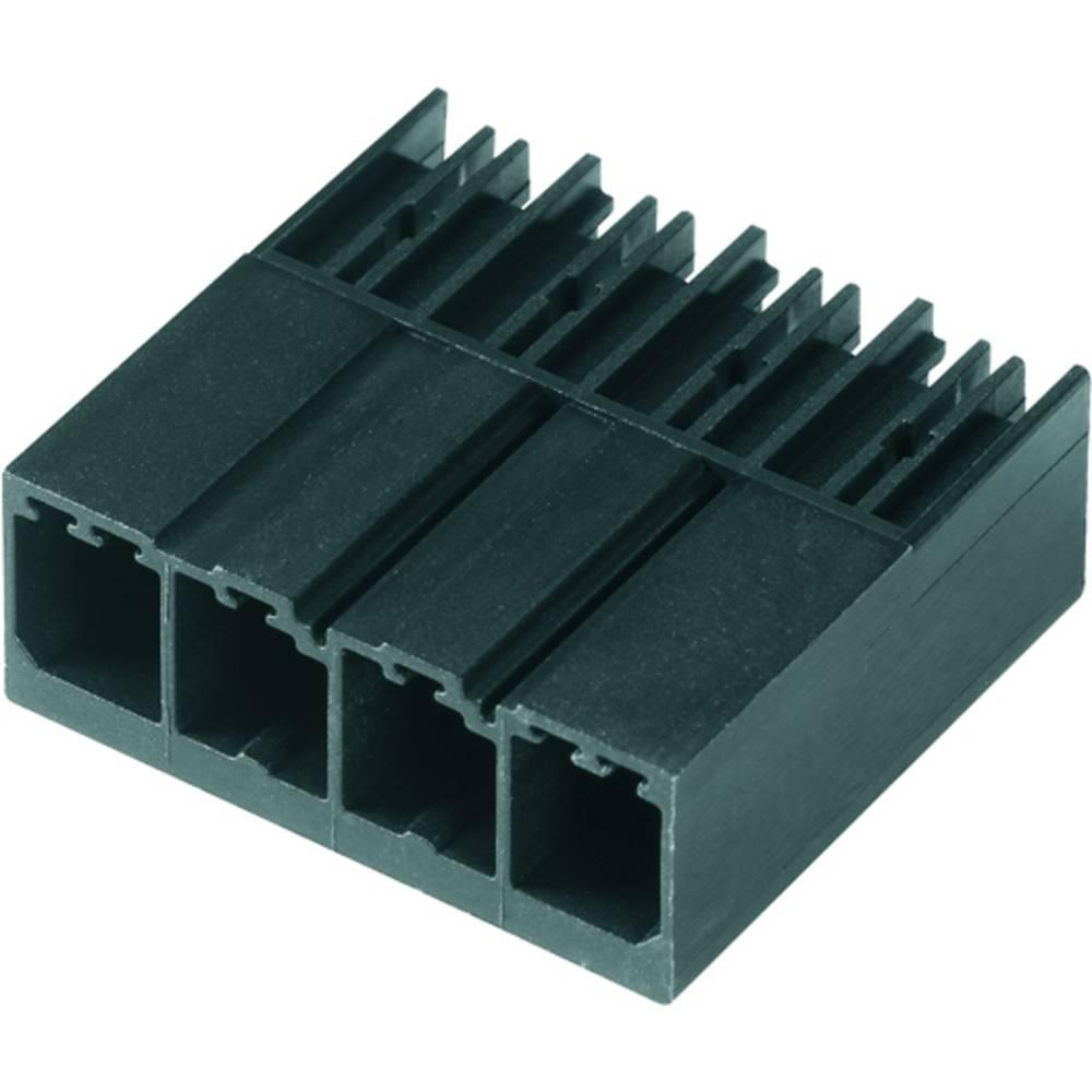 Vtični konektor za tiskana vezja črne barve Weidmüller 1930300000 vsebuje: 48 kosov