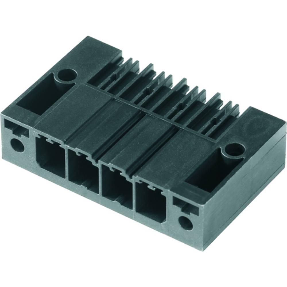Vtični konektor za tiskana vezja črne barve Weidmüller 1930390000 vsebuje: 48 kosov