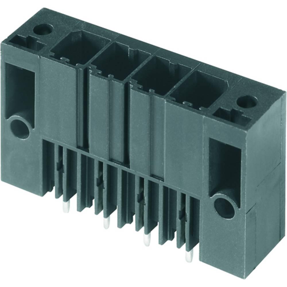 Vtični konektor za tiskana vezja črne barve Weidmüller 1930720000 vsebuje: 48 kosov