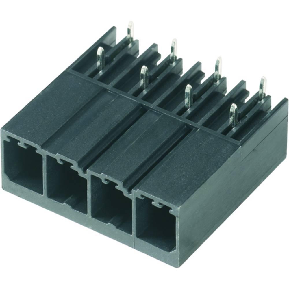 Vtični konektor za tiskana vezja črne barve Weidmüller 1931280000 vsebuje: 60 kosov