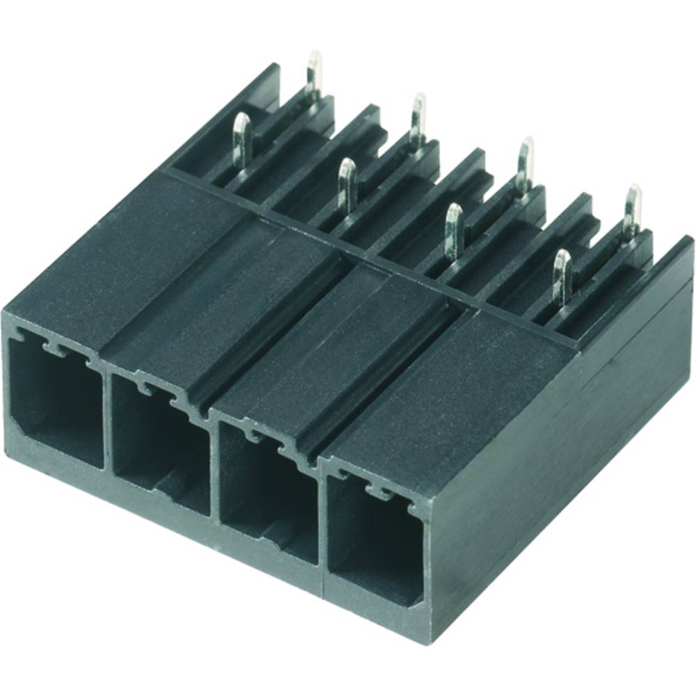 Vtični konektor za tiskana vezja črne barve Weidmüller 1931310000 vsebuje: 30 kosov