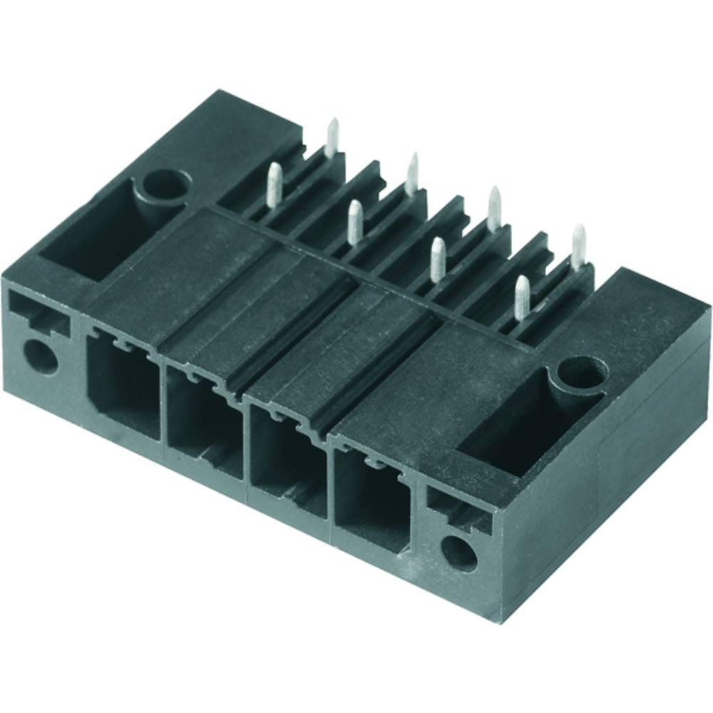 Vtični konektor za tiskana vezja črne barve Weidmüller 1931530000 vsebuje: 24 kosi
