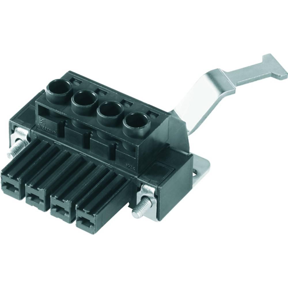 Tilslutningskabinet-kabel BV/SV (value.1360606) Samlet antal poler 5 Weidmüller 1933450000 Rastermål: 7.62 mm 25 stk