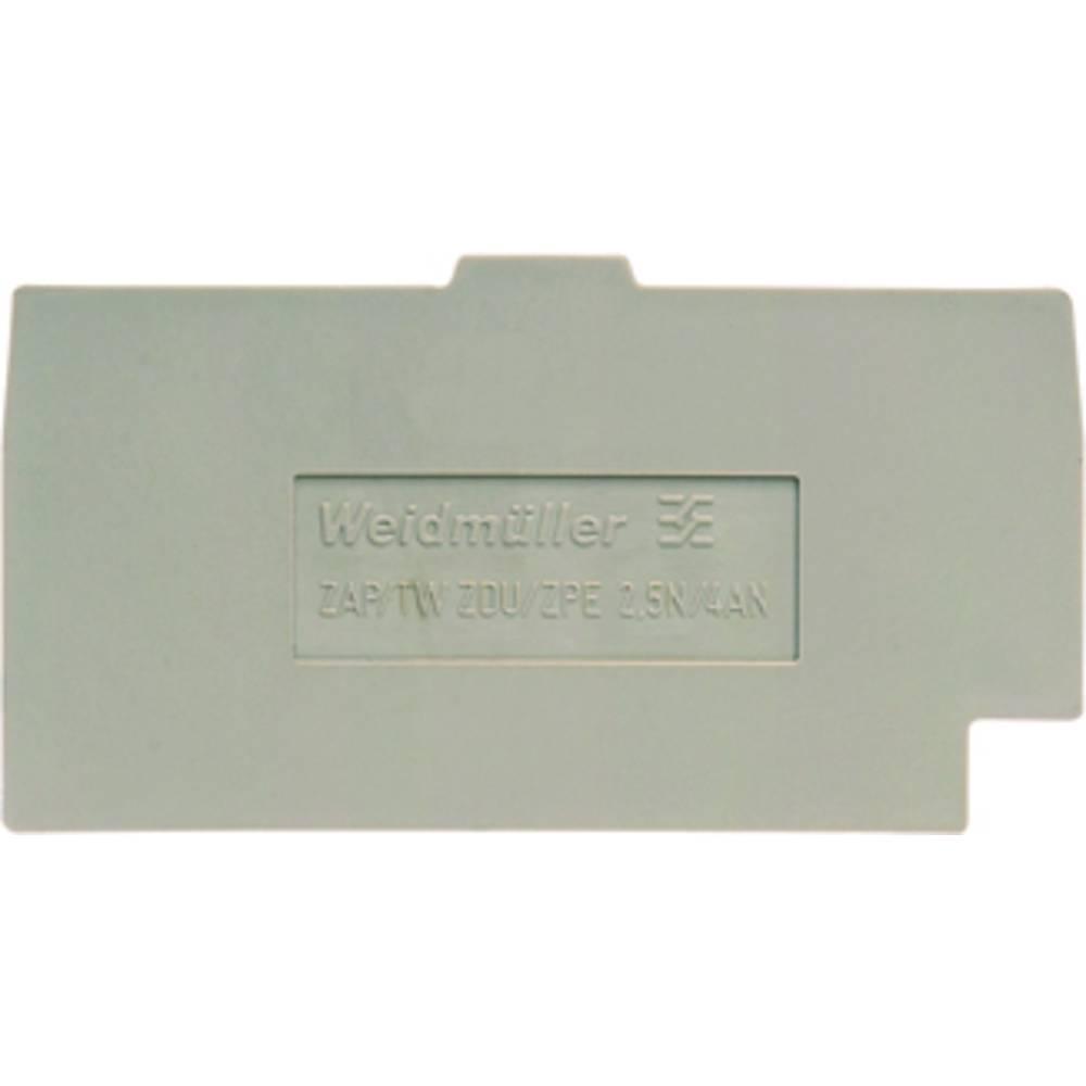 endeplade ZAP/TW ZDU/ZPE 2.5N/4AN 1933810000 Weidmüller 50 stk