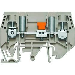 Ločilna testna serijska sponka WTL 6/1 EN STB Weidmüller vsebuje: 50 kosov