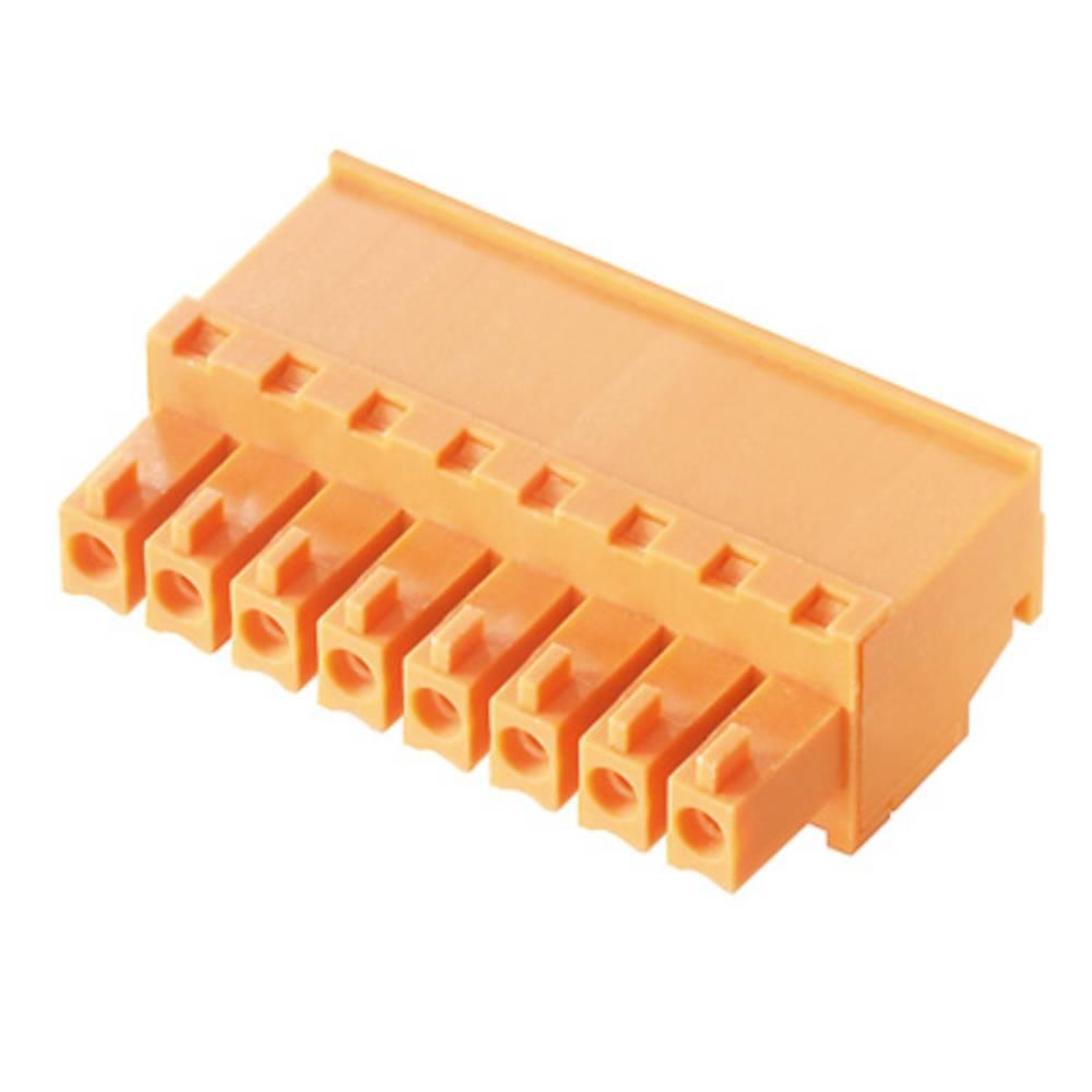Tilslutningskabinet-kabel BC/SC (value.1360601) Samlet antal poler 11 Weidmüller 1940280000 Rastermål: 3.81 mm 50 stk
