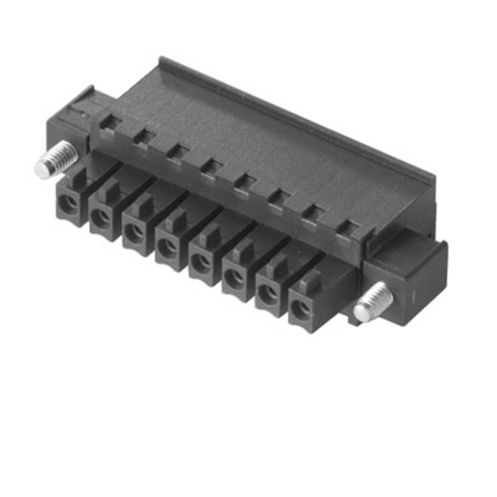 Tilslutningskabinet-kabel BC/SC (value.1360601) Samlet antal poler 7 Weidmüller 1940670000 Rastermål: 3.81 mm 50 stk
