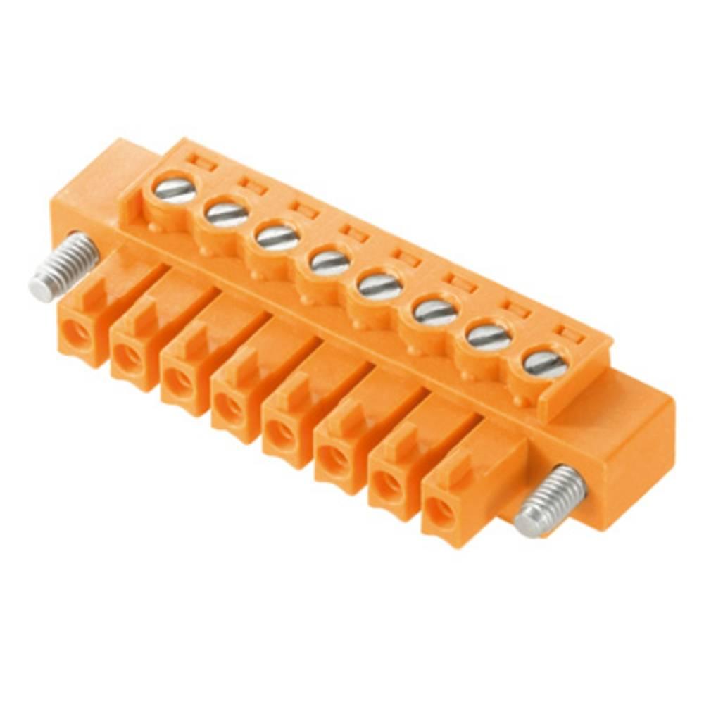 Tilslutningskabinet-kabel BC/SC Samlet antal poler 7 Weidmüller 1941060000 Rastermål: 3.81 mm 50 stk