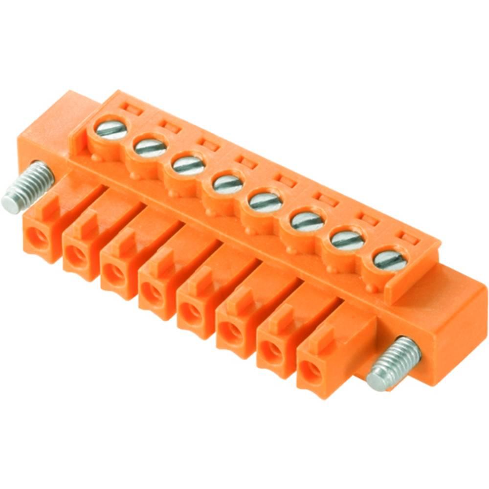 Tilslutningskabinet-kabel BC/SC Samlet antal poler 8 Weidmüller 1941070000 Rastermål: 3.81 mm 50 stk