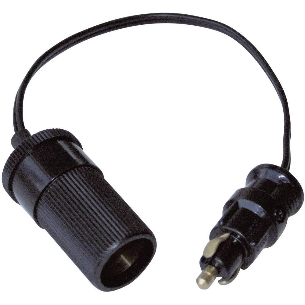 Adapter Standardstik på cigarettænderkobling BAAS Adapterkabel BA14 12 eller 24 V/DC
