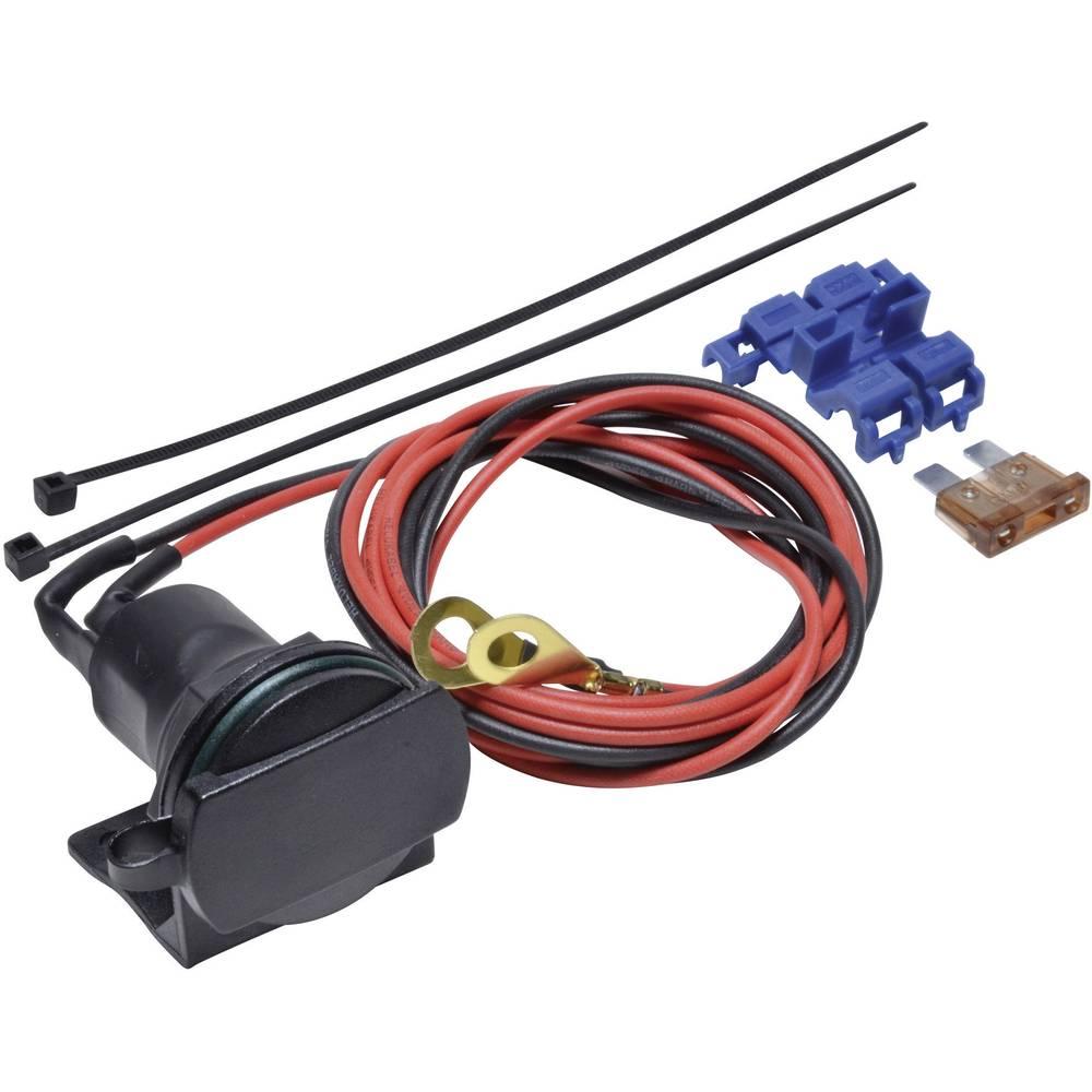 BAAS Vtičnica za cigaretni vžigalnik s cevnim držalom ZA01 maks. tokovna obremenitev: 5 A za cigaretni vžigalnik