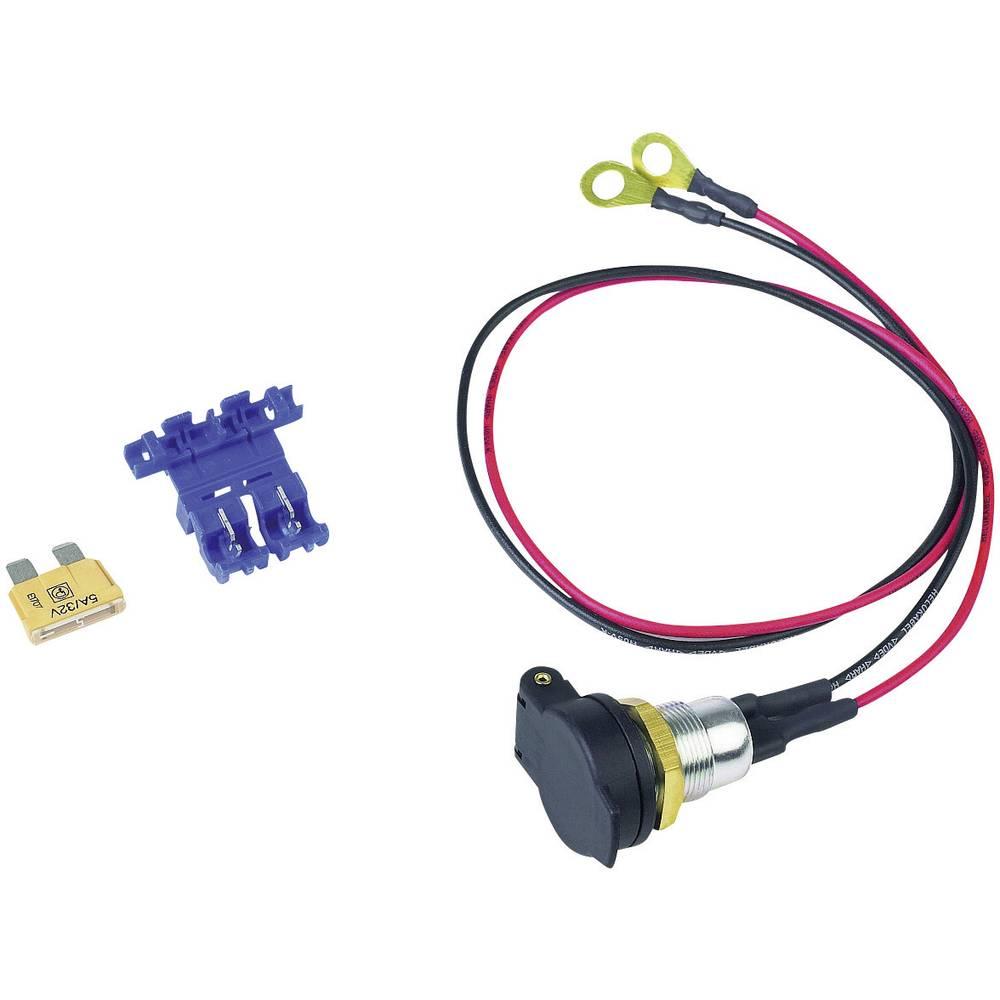Stikdåse Montering uden holder BAAS DIN-Bordsteckdose SD14 12 V/DC 5 A Ringkablesko