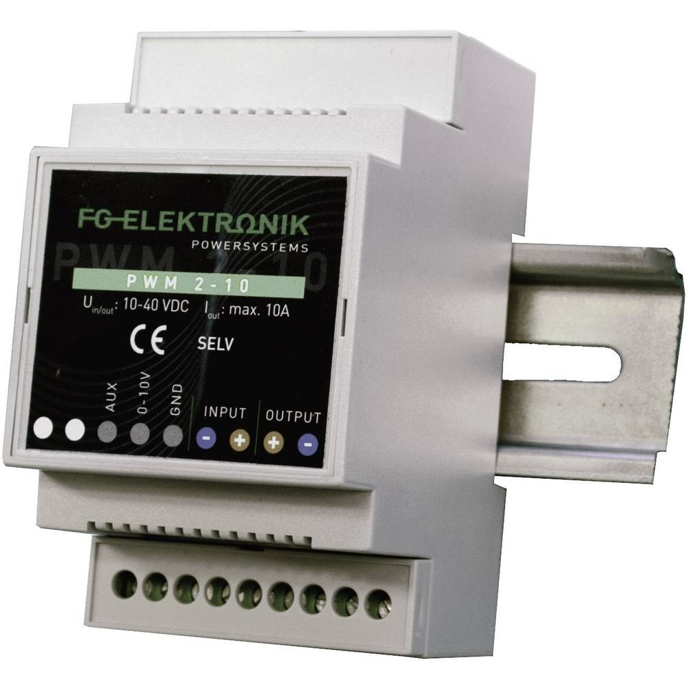 LED-dæmper 400 W 40 V/DC PWM-dæmpning FG Elektronik PWM 2-10 Driftsspænding maks.: 40 V/DC